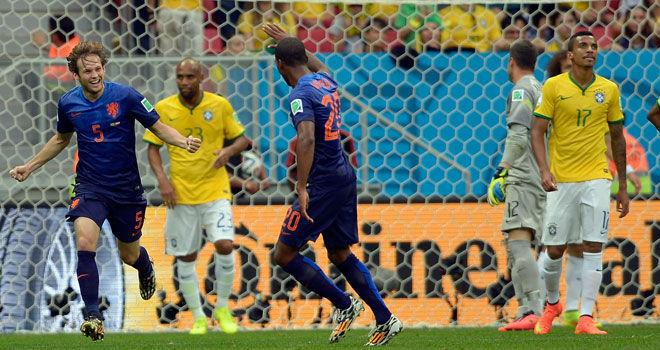 Brasil vs Holanda, Mundial de Brasil (12/06/2014)