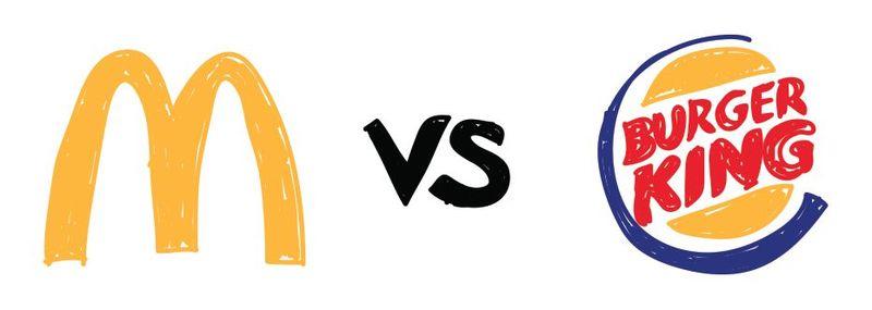 ¿McDonalds o Burguer King?