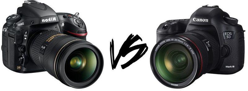 ¿Canon o Nikon?