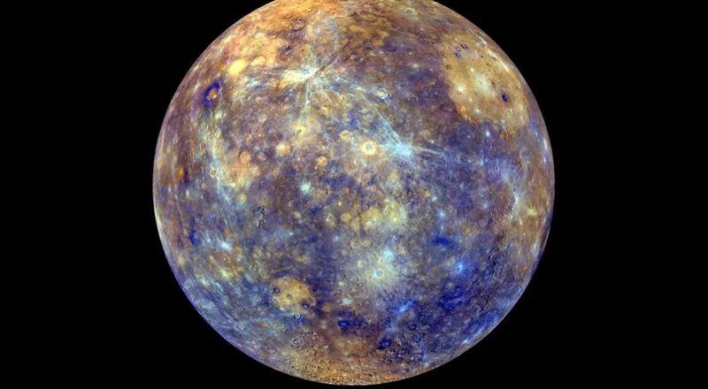 Ahora a Mercurio. ¿Cuál es la temperatura máxima y mínima respectivamente, en su superficie?