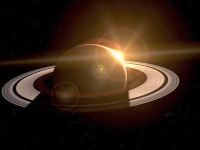 A Saturno. ¿Es cierto que Saturno es el único planeta del Sistema Solar con un sistema de anillos?
