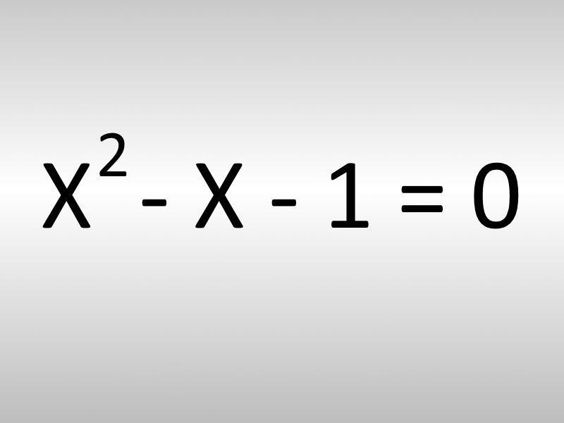 La solución de la siguiente ecuación es...