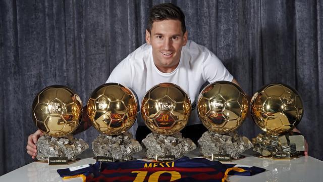 ¿Cuántos balones de oro ha ganado Messi de forma consecutiva?