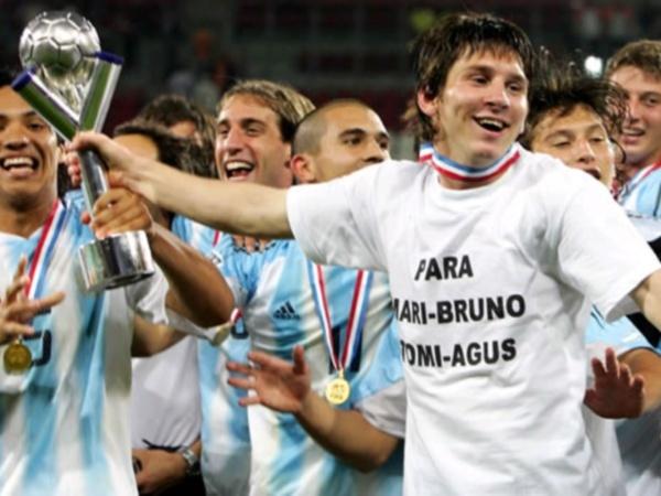 ¿En qué año ganó Messi la Copa Mundial de Fútbol Sub-20?