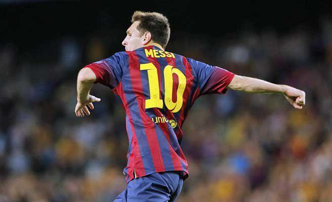 ¿En cúantas finales de la Copa de Campeones de la UEFA ha marcado  Messi?