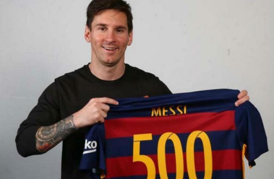 ¿A qué equipo le marcó su gol 500 como profesional?