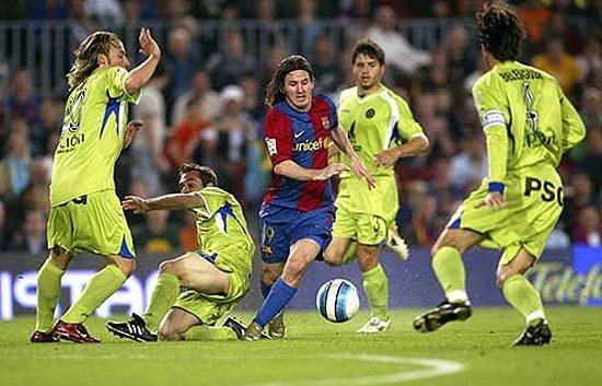 ¿Contra qué equipo marcó Messi su gol Maradoniano?