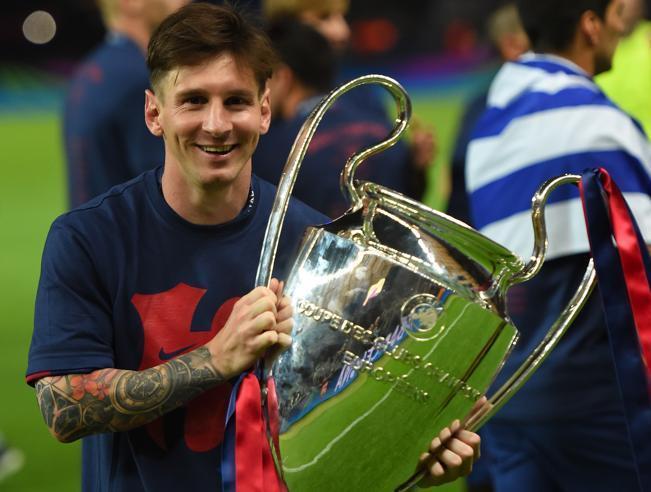 ¿Cúantas Copas de Campeones de la UEFA ha ganado Messi?