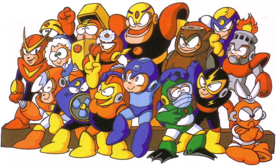 ¿Cuántos robots maestros había que derrotar en Megaman I?