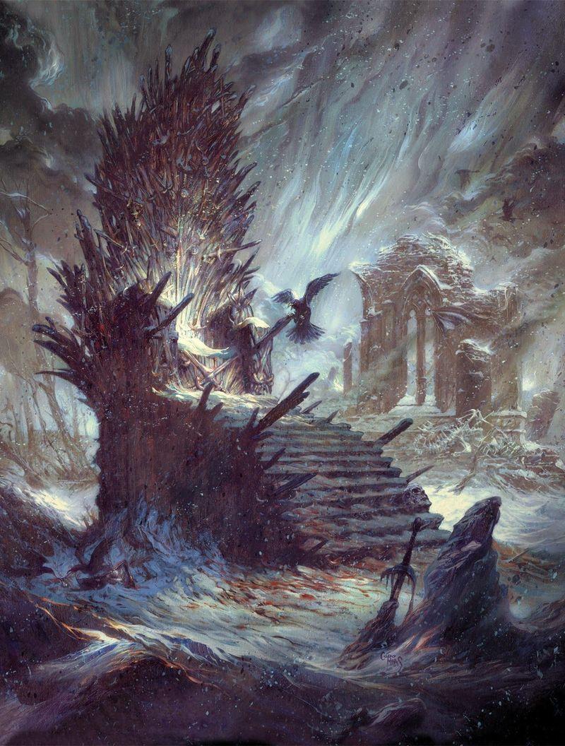 Y pongamos otra fácil, pero no esperes muchas más. ¿De cuántas espadas está formado el trono de hierro?