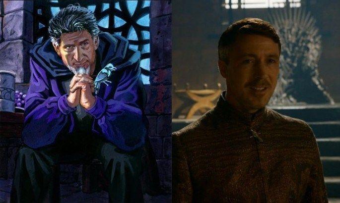 ¿Por qué Petyr Baelish recibe el apodo de Meñique?