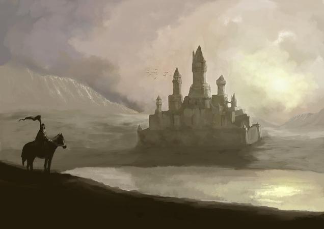 ¿Qué sucedió cuando se terminó de construir Harrenhal?
