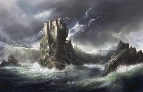¿Cuántas fortalezas fueron destruidas según la leyenda antes de que la actual Bastión de las tormentas fuera levantada?