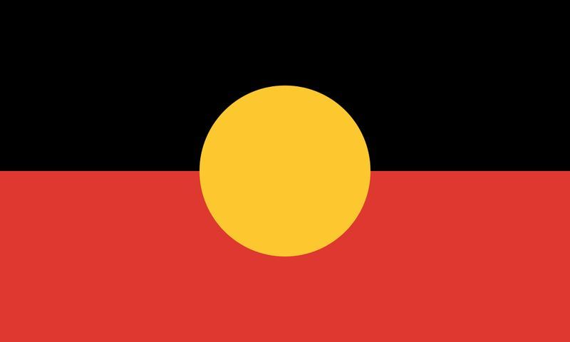 Llegamos hacia Oceanía, ¿qué tribus usaba esta bandera?
