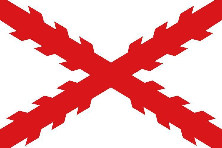 Llegamos a Sudamérica, empezando por la más sencilla, ¿Qué imperio utilizaba esa bandera y qué es esta cruz?