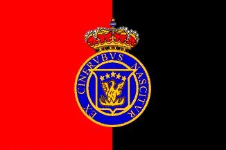 Vamos hacia el Caribe y después a África, ¿Qué reino usaba esta bandera?