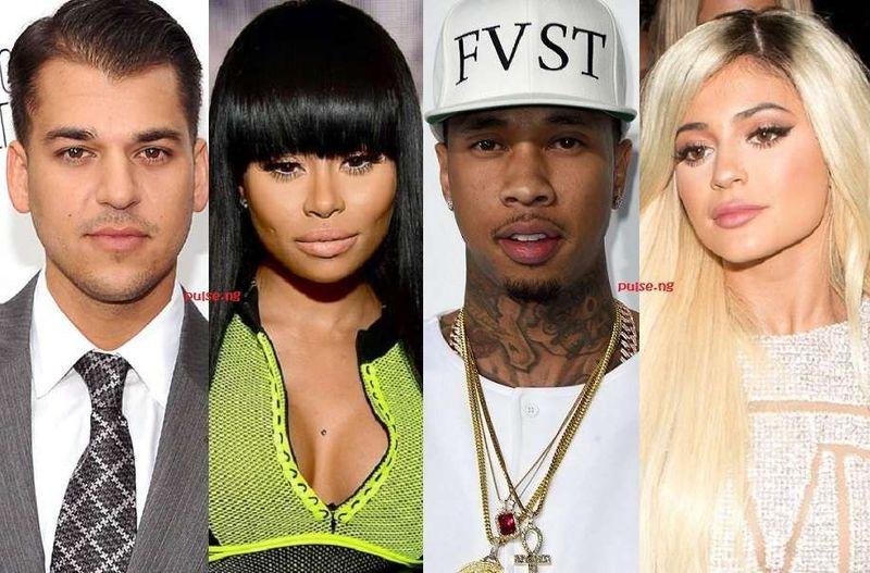 ¿Cuál es la relación entre Rob y Kylie con Tyga y Blac Chyna?