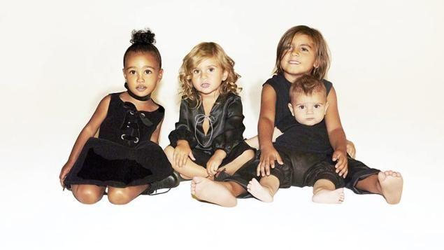 ¿Cómo se llaman los hijos de Kanye West y Kim Kardashian?