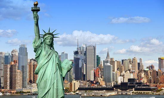 Empecemos por una ciudad muy conocida, Nueva York ¿Sabes dónde esta sitúado esta ciudad?