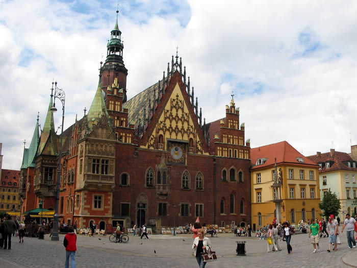 Volamos a Breslavia  ¿Sabes dónde se sitúa?