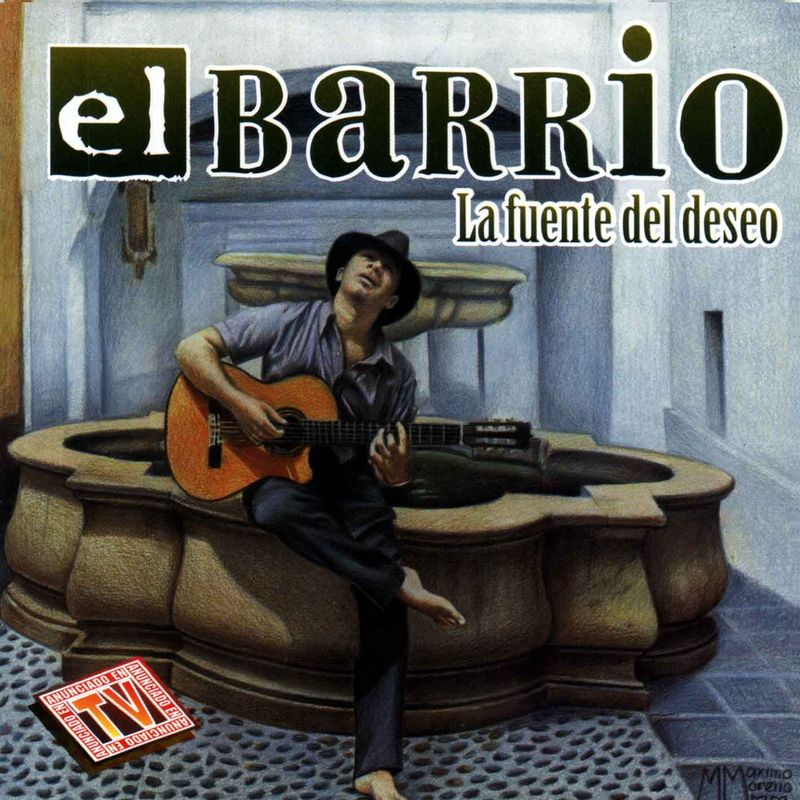 ¿En qué año salió el disco 'Fuente del deseo'? Este disco le llevó a la fama.