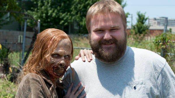 ¿Cómo se llama el autor de los cómics de The Walking Dead?