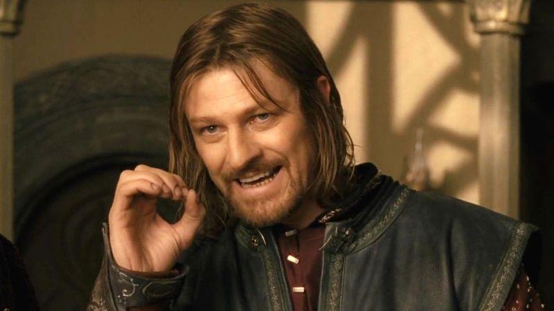 ¿Cómo se llama la espada de Boromir?