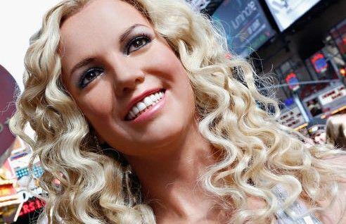 ¿Es Britney Spears o su figura de cera?