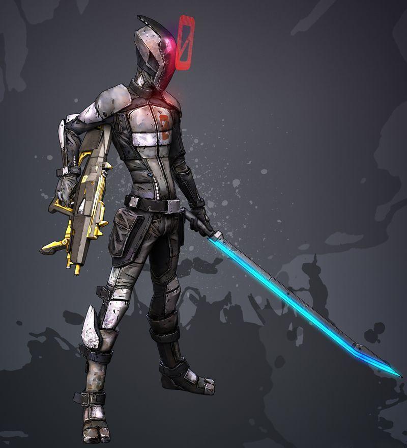 (Bonus) Te encuentras a este Ninja futurista y te ofrece un raro Subfusil de balas incendiarias