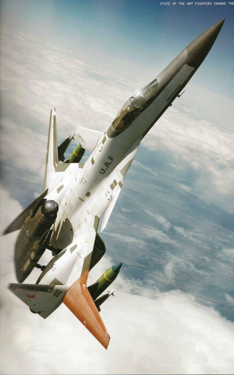Y la última. ¿Quién contra el misil V-2 en Ace Combat Zero?