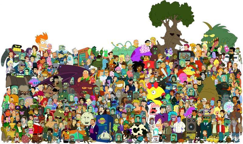 18110 - Personajes Secundarios de Futurama: ¿Cuántos reconoces?