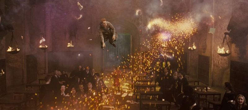 ¿Quién continua el legado de los gemelos Weasley cuando dejan Hogwarts?