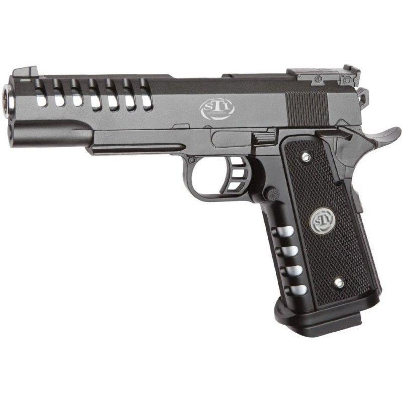 ¿A qué distancia NO se puede disparar una pistola?