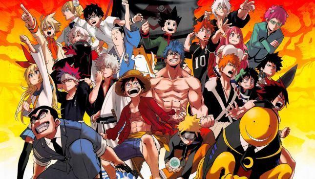 18270 - MEGATEST ¿A qué serie de anime pertenecen estos personajes?