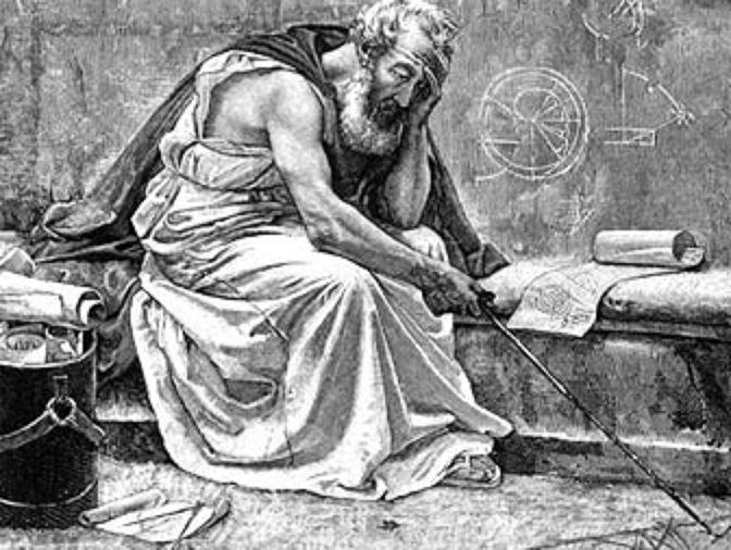 Las últimas palabras de Arquímedes fueron: