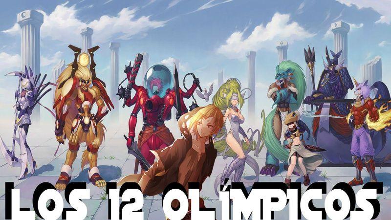 18345 - ¿Sabes cómo se llaman los 12 Olímpicos de Digimon?