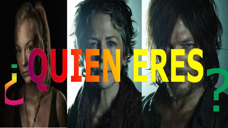 18422 - The Walking Dead : ¿Qué personaje eres? (2.0)