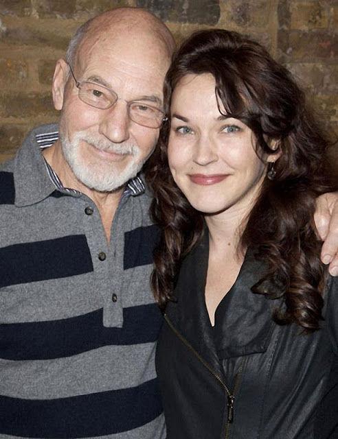 ¿Es la pareja o la hija del actor Patrick Stewart?