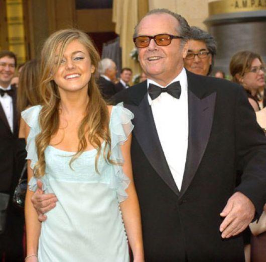 ¿Es la hija o la pareja de Jack Nicholson?