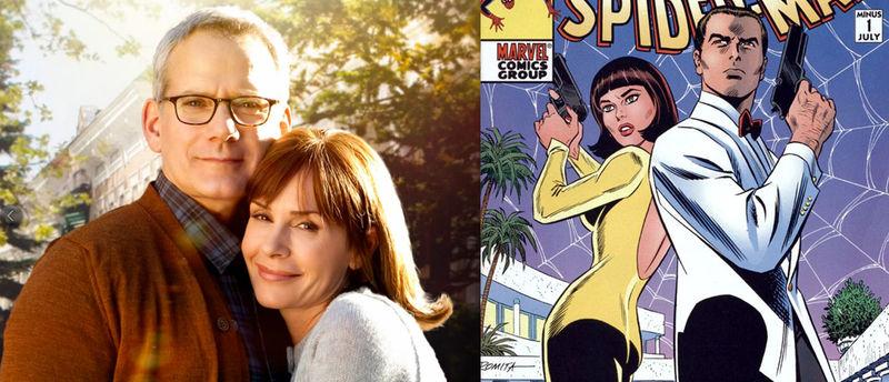 ¿Cómo se llamaban los padres de Peter Parker?