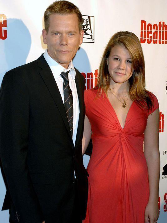 ¿Es la pareja o la hija del actor Kevin Bacon?