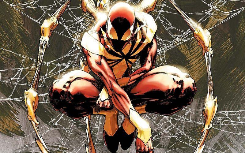 ¿Cuándo se vió por primera vez a Spiderman lucir su traje conocido como