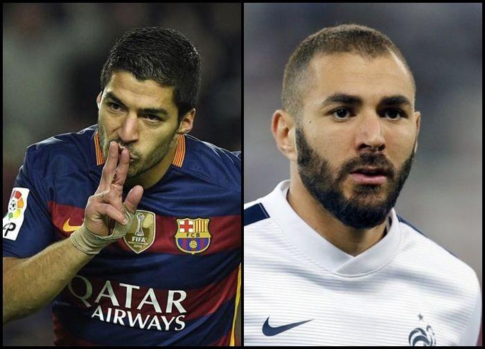 ¿Benzema o Luis Suárez?