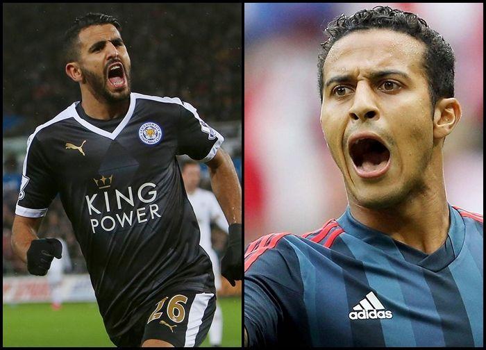 ¿Thiago Alcántara o Riyad Mahrez?
