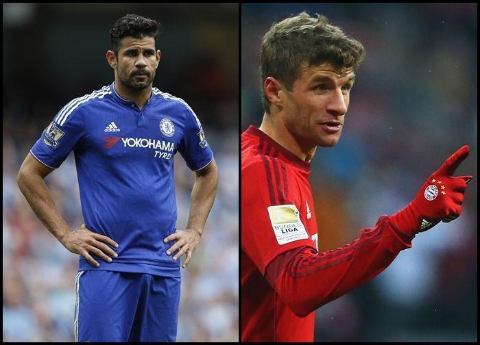 ¿Thomas Müller o Diego Costa?