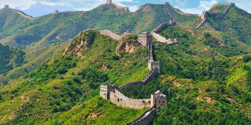 La Muralla China se puede ver desde el espacio
