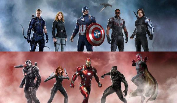 18488 - Civil War ¿qué bando prefieres?