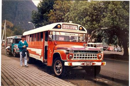 Ésta será la penúltima, ¿qué autobus es éste?