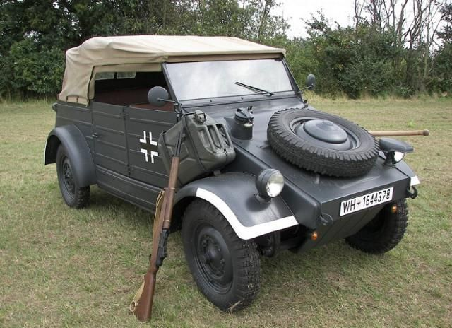 EXTRA: Viajamos a la 2º Guerra Mundial, ¿qué coche es éste?