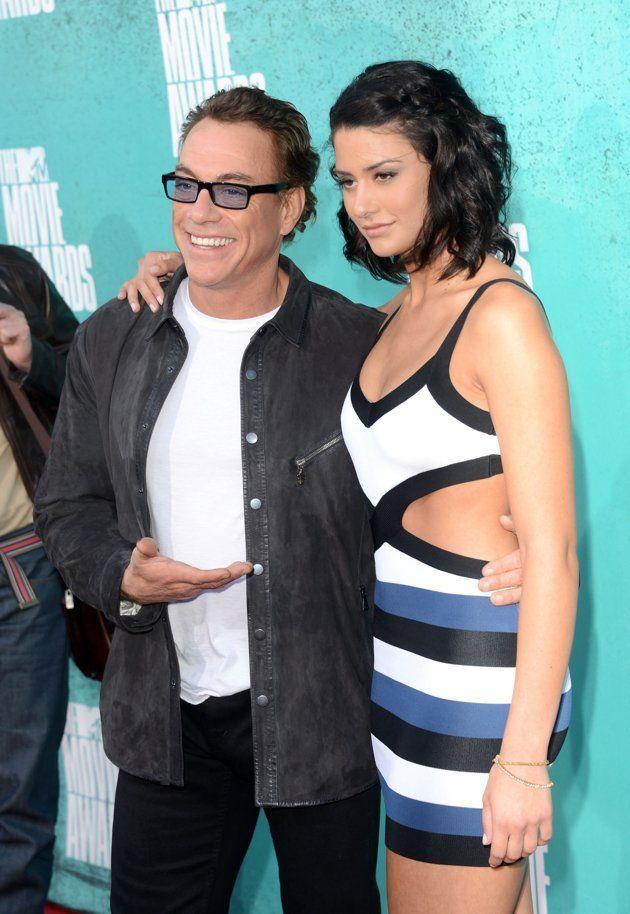 ¿Es la hija o la pareja del actor Jean-Claude Van Damme?